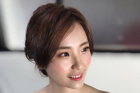 台北新秘 婚宴日白紗造型