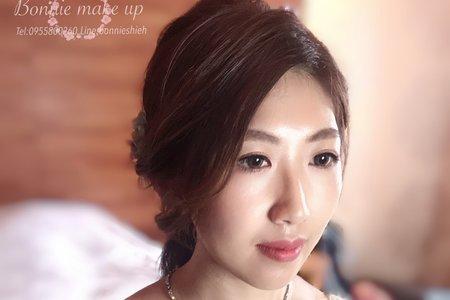 9/28宜蘭友愛飯店婚宴日造型