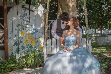 U&M 戶外證婚教堂婚禮@台北青青食尚花園/費加洛教堂
