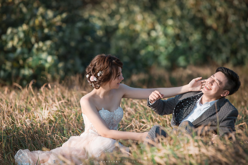 百二婚禮攝影-婚紗包套作品