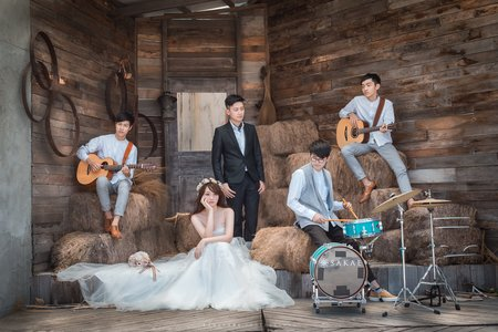 H&G 婚紗攝影@淡水莊園