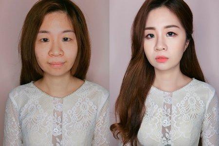 韓系新娘妝髮教學班