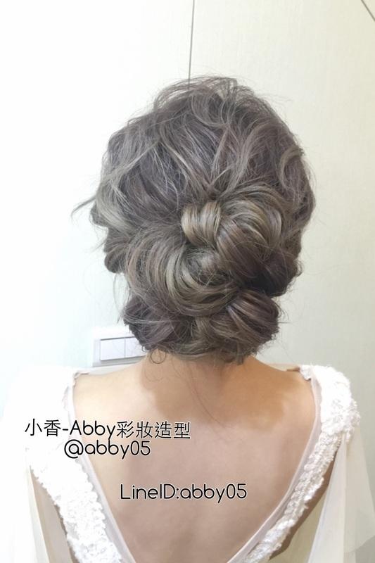 [小香-Abby] 日系風格 新娘髮型(編號:219621) - 小香 - Abby彩妝造型《結婚吧》