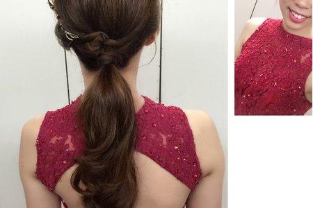 [小香-Abby]  新娘婚紗造型 bride 小錦
