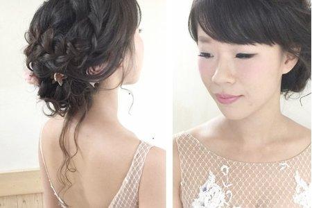 [小香-Abby] 新娘 欣怡 婚紗造型