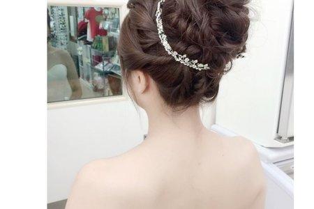 婚紗外拍 新娘造型