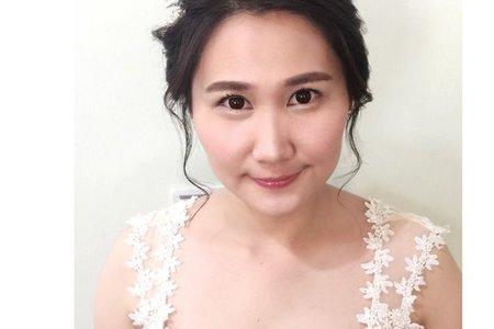 [小香-Abby] 婚紗造型 自然妝感
