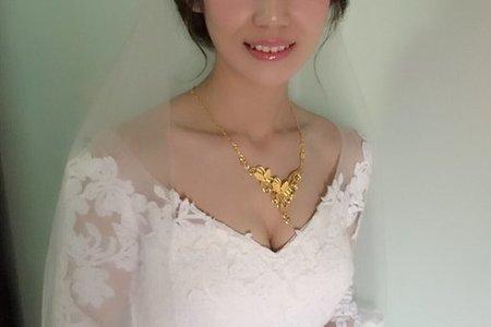 [小香-Abby] 5/3 新娘秘書 白紗造型 bride 美美