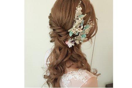新娘秘書 日系浪漫盤髮