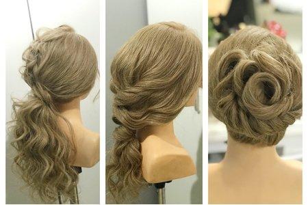 [新秘小香Abby]  新娘髮型