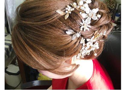 [新秘小香-Abby] 新娘造型 訂結儀式