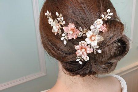 [小香-Abby] 新娘造型 氣質盤髮