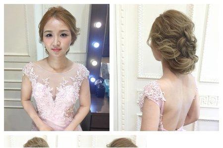 [小香-Abby] 新娘造型 盤髮造型