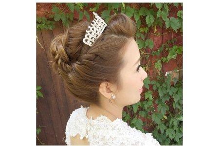 [小香-Abby]新娘 vivi. 婚紗造型