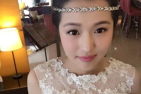[小香-Abby] 婚紗造型 眼妝變化