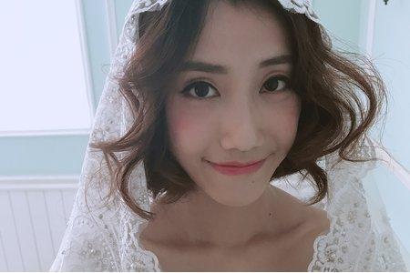 [小香-Abby] 短髮新娘 及肩長度