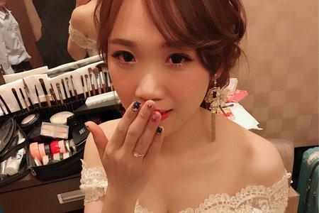 [小香-Abby] 訂婚儀式造型