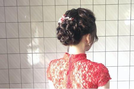 [小香-Abby] 訂婚儀式旗袍造型