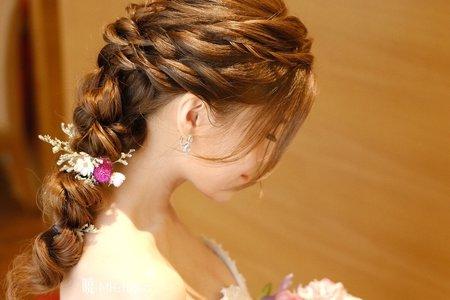 新娘秘書 晚禮服造型