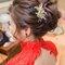 怡君婚宴-旗袍造型/韓式低包頭(編號:222827)