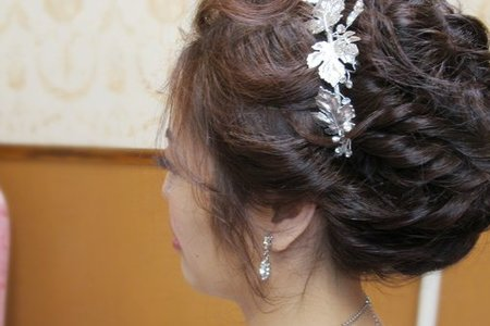美梔婚宴-韓式編髮/大氣包頭/甜美魚骨編髮