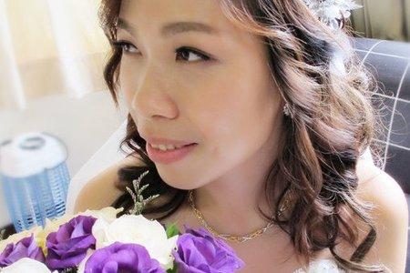怡君婚宴-浪漫公主頭/花苞丸子頭/韓式低馬尾