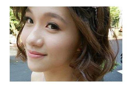 短髮新娘-蓬鬆短髮/編髮包頭