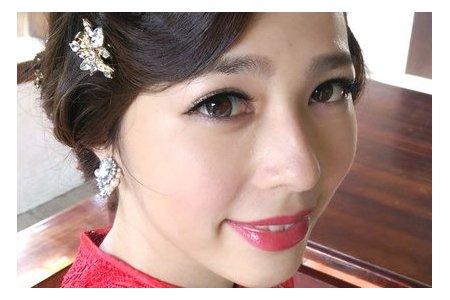 婚紗-旗袍復古/歐式花苞造型/魚骨編髮