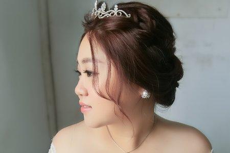 Lillian新秘工作室-櫻花婚紗造型+韓風典雅皇冠造型+仙氣公主頭