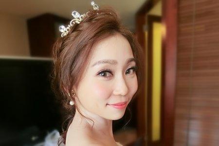 Lillian 新娘秘書工作室-龍鳳掛造型+仙氣白紗造型+花仙子公主頭