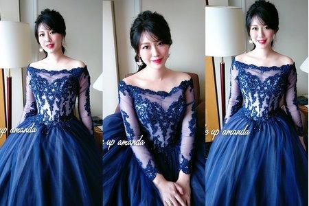 新娘晚禮服造型