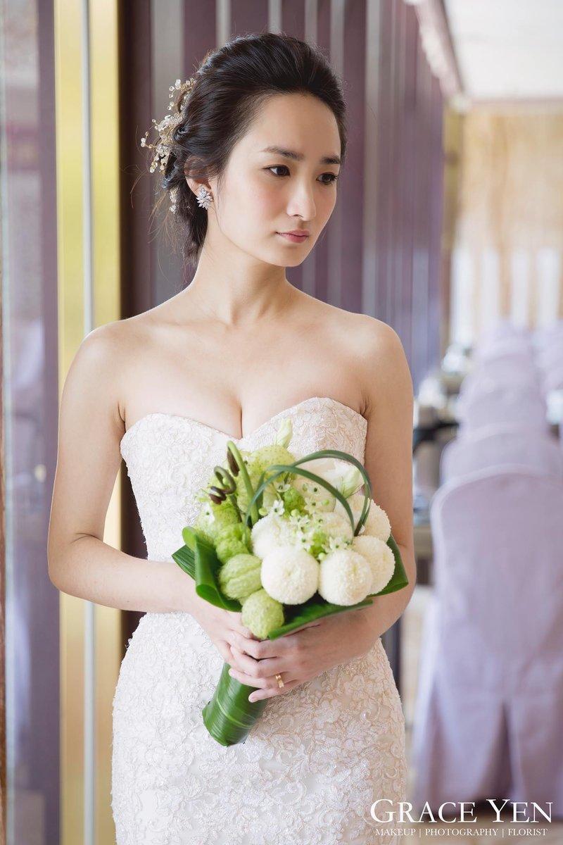 婚禮妝髮作品