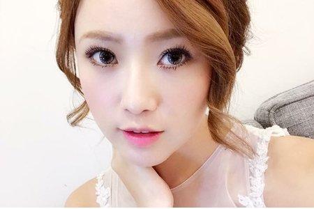 台中新秘Nisi 率性公主系列 婚紗外拍/婚紗造型/婚紗妝髮