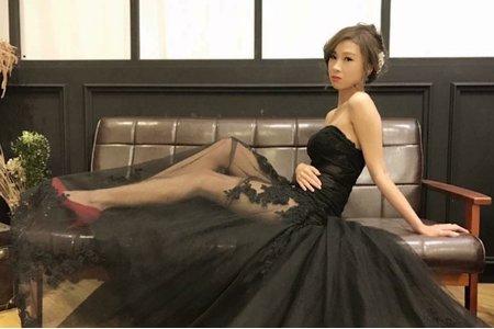 台中新秘Nisi 嬌小公主系列 婚紗外拍/婚紗造型/婚紗妝髮