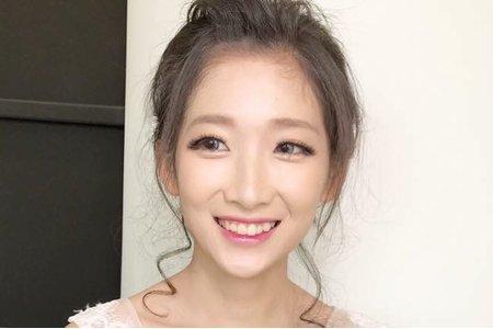 台中新秘Nisi 甜美公主系列 婚紗外拍/婚紗造型/婚紗妝髮