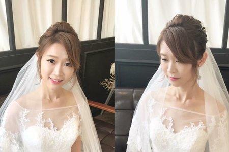 台中新秘Nisi 氣質公主系列 婚紗外拍/婚紗造型/婚紗妝髮