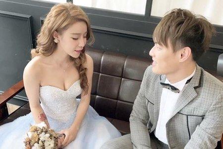 台中新秘Nisi 個性公主系列 婚紗外拍/婚紗造型/婚紗妝髮