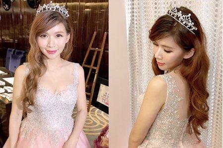 台中新秘Nisi  小城堡公主系列 訂婚妝髮/訂婚造型/新娘造型