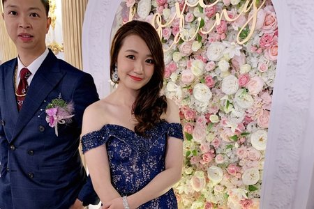 台中新秘Nisi 靜兒公主 結婚造型/結婚妝髮/新娘造型
