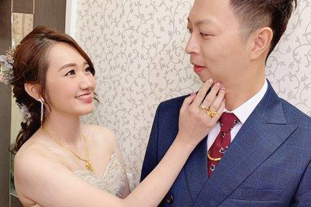 台中新秘Nisi 靜兒公主 訂婚造型/訂婚妝髮/新娘造型