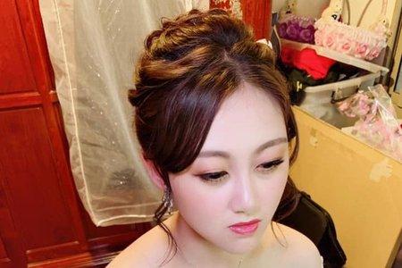 台中新秘Nisi  綉兒公主 結婚妝髮/結婚造型