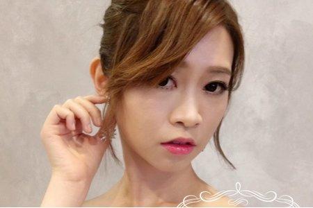 台中新秘Nisi yo-yo 結婚造型/結婚妝髮/結婚髮型/新娘造型/新娘妝髮