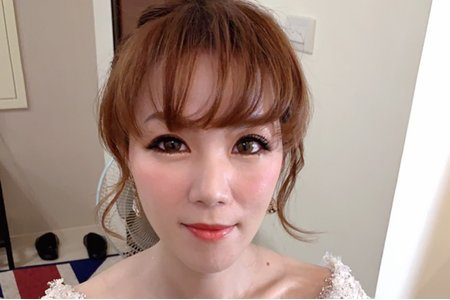 台中新秘Nisi 小羽公主 訂婚造型/訂婚妝髮/訂婚髮型/新娘妝髮/新娘髮型