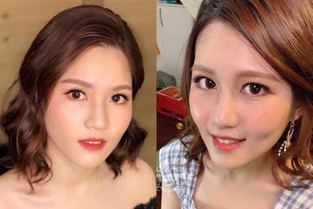 台中新秘Nisi 宜佳公主試妝紀錄分享