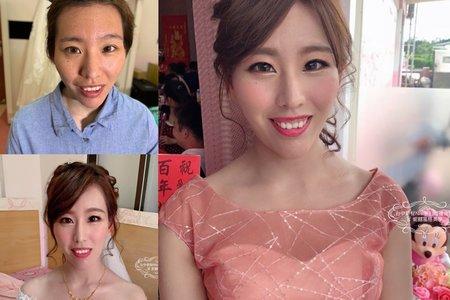 台中新秘Nisi 盈瑄公主結婚造型/結婚髮型/結婚妝髮/新娘妝髮