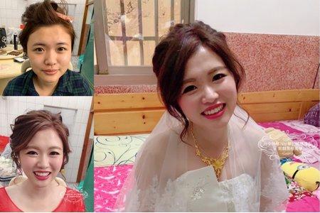 台中新秘Nisi 怡伶公主訂婚造型/結婚造型/訂婚妝髮/結婚妝髮/新娘妝髮/新娘髮型/新娘造型