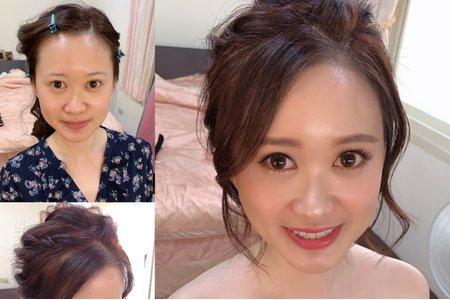 台中新秘Nisi 臻臻公主訂婚/訂婚造型/訂婚髮型/訂婚妝髮/新娘造型/新娘髮型/新娘妝髮