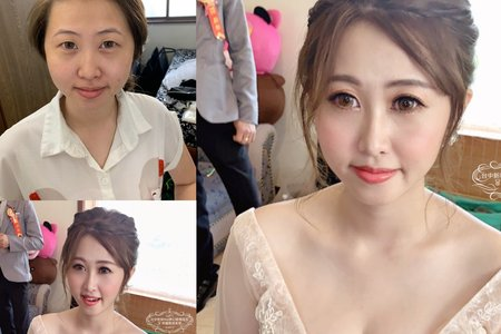 台中新秘Nisi 律兒公主結婚造型/結婚髮型/結婚妝髮/新娘妝髮/新娘髮型