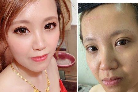 台中新秘Nisi 童童公主訂婚 訂婚造型/訂婚髮型/訂婚妝髮/新娘造型