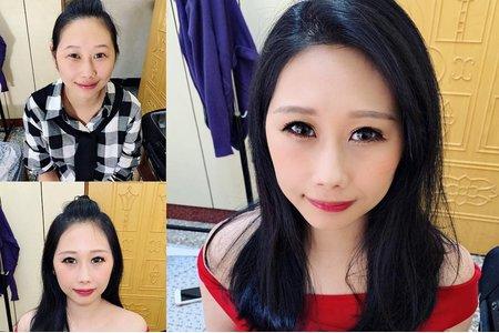 台中新秘Nisi 冷豔公主系列 新娘單妝/訂婚造型/訂婚妝髮
